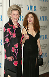 Dina Merrill and Bernadette Peters attends  The Museum of Television &amp; Radio's Annual Gala Honoring Merv Griffin for his Award-Winning Television and Radio Career as well as his Contributions as a Business Leaderin the Entertainment Industry. The evening was held at the Waldorf Astoria Hotel in New York City. <br />