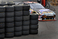 Apr 20, 2007; Avondale, AZ, USA; Nascar Nextel Cup Series driver Ricky Rudd (88) during practice for the Subway Fresh Fit 500 at Phoenix International Raceway. Mandatory Credit: Mark J. Rebilas