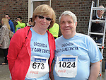 Paddy and Geraldine McCabe who took part in the Boyne 10K run. Photo: Colin Bell/pressphotos.ie