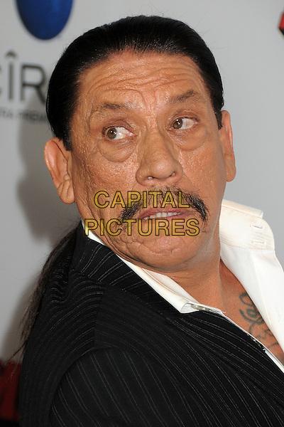 Danny Trejo<br /> The L.A. Premiere of 'Machete Kills' held at The Regal Cinemas L.A. Live in Los Angeles, California, USA.<br /> October 2nd, 2012<br /> headshot portrait black suit jacket moustache mustache facial hair <br /> CAP/ADM/BP<br /> &copy;Byron Purvis/AdMedia/Capital Pictures