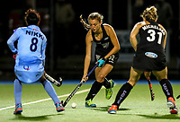 Madison Doar during the international hockey match between the Blacksticks Women and India, Rosa Birch Park, Pukekohe, New Zealand. Tuesday 16  May 2017. Photo:Simon Watts / www.bwmedia.co.nz