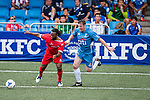 Citibank All Stars vs Nottingham Forest Mobsters during the Day 2 of the HKFC Citibank Soccer Sevens 2014 on May 24, 2014 at the Hong Kong Football Club in Hong Kong, China. Photo by Xaume Olleros / Power Sport Images