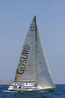 ESP8438 .GD SUR EL CAMPELLO .JOSE MARIA BAEZA .JUAN CARLOS GARCIA .C.N. Campello .X-35 .XIII TROFEO TABARCA CIUDAD DE ALICANTE - Real Club de Regatas de Alicante - 3-6 July 2008 - Alicante, España / Spain