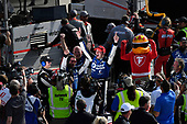 Verizon IndyCar Series<br /> Chevrolet Detroit Grand Prix Race 2<br /> Raceway at Belle Isle Park, Detroit, MI USA<br /> Sunday 4 June 2017<br /> Graham Rahal, Rahal Letterman Lanigan Racing Honda celebrates the win<br /> World Copyright: Scott R LePage<br /> LAT Images<br /> ref: Digital Image lepage-170604-DGP-11208