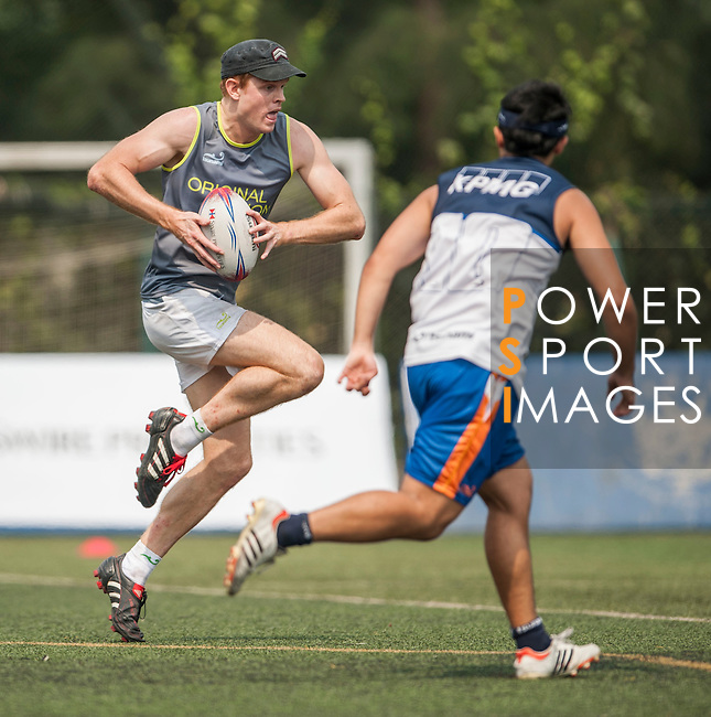Original Vision vs KPMG during the Swire Properties Touch Tournament at Kowloon King's Park Sports Ground on 13 July 2013 in Hong Kong, China. Photo by Victor Fraile / The Power of Sport Images
