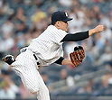 Masahiro Tanaka (Yankees), JUNE 9, 2015 - MLB : New York Yankees starting pitcher Masahiro Tanaka throws the ball during a baseball game against the Washington Nationals at Yankee Stadium in New York, United States. (Photo by AFLO)