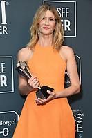 12 January 2020 - Santa Monica, California - Laura Dern. 25th Annual Critici's Choice Awards - Press Room held at Barker Hangar. Photo Credit: Birdie Thompson/AdMedia