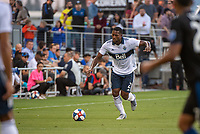 SAN JOSE, CA - AUGUST 24: Doneil Henry #2 of the Vancouver Whitecaps during a game between Vancouver Whitecaps FC and San Jose Earthquakes at Avaya Stadium on August 24, 2019 in San Jose, California.