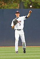UVa Baseball at Davenport Field during the 2009 season. (Photo/Andrew Shurtleff)