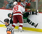 Doug Jones (Dartmouth - 14), Chris Huxley (Harvard - 28) - The Harvard University Crimson defeated the Dartmouth College Big Green 4-1 (EN) on Monday, January 18, 2010, at Bright Hockey Center in Cambridge, Massachusetts.