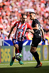 Juanfran Torres of Atletico de Madrid in action during the La Liga match between Atletico Madrid and Eibar at Wanda Metropolitano Stadium on May 20, 2018 in Madrid, Spain. Photo by Diego Souto / Power Sport Images