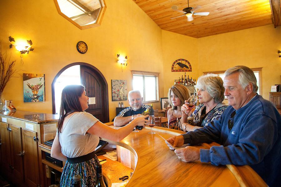 Sweet Cheeks Winery, near Eugene Oregon