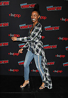 NEW YORK, NY - OCTOBER 6: Sonequa Martin-Green, at the panel discussion for the new season of the CBS series Star Trek: Discovery during New York Comic Con 2018 at The Hulu Theater at Madison Square Garden in New York City on October 6, 2018. <br /> CAP/MPI/RW<br /> &copy;RW/MPI/Capital Pictures