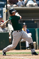 May 20, 2007: Cyle Hankerd of the Visalia Oaks bats against the Rancho Cucamonga Quakes at The Epicenter in Rancho Cucamonga,CA.  Photo by Larry Goren/Four Seam Images