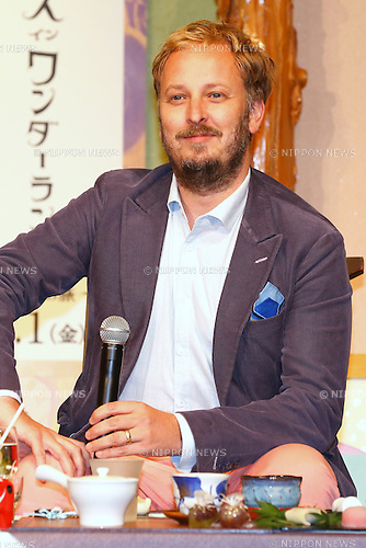 "Director James Bobin attends the press conference for the film ""Alice Through the Looking Glass"" in Tokyo, Japan on June 20, 2016. (Photo by Sho Tamura/AFLO)"