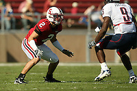 14 October 2006: Nick Sanchez during Stanford's 20-7 loss to Arizona during Homecoming at Stanford Stadium in Stanford, CA.