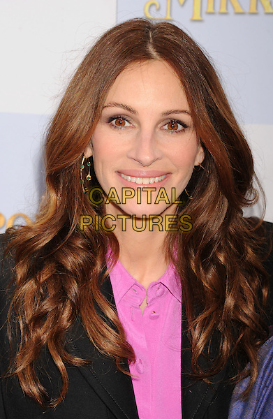 """Julia Roberts.""""Mirror Mirror"""" Los Angeles Premiere held at Grauman's Chinese Theatre, Los Angeles, California, USA,.17th March 2012.portrait headshot pink shirt black jacket smiling  .CAP/ROT/TM.©Tony Michaels/Roth Stock/Capital Pictures"""