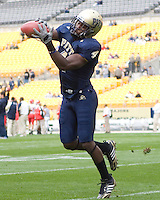 October 25, 2008: Pitt defensive back Elijah Fields. The Rutgers Scarlet Knights defeated the Pitt Panthers 54-34 on October 25, 2008 at Heinz Field, Pittsburgh, Pennsylvania.
