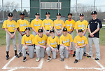 4-19-15, Huron High School freshman baseball team