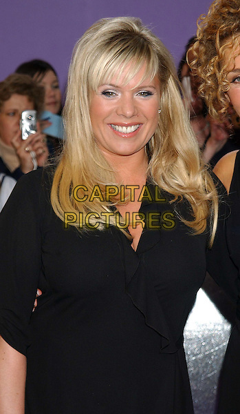 LETITIA DEAN.British Soap Awards 2004. BBC Centre, Wood Lane, London.May 8th, 2004.half length, half-length.www.capitalpictures.com.sales@capitalpictures.com.© Capital Pictures.