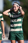 31 August 2014: UAB's Amy Brewer. The Duke University Blue Devils hosted the University of Alabama Birmingham Blazers at Koskinen Stadium in Durham, North Carolina in a 2014 NCAA Division I Women's Soccer match. Duke won the game 3-1.