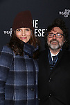 Tina Fey and Jeff Richmand attends the Broadway Opening Night Performance of 'The Present' at the Barrymore Theatre on January 8, 2017 in New York City.