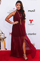 PASADENA, CA, USA - OCTOBER 10: Vivian Lamolli arrives at the 2014 NCLR ALMA Awards held at the Pasadena Civic Auditorium on October 10, 2014 in Pasadena, California, United States. (Photo by Celebrity Monitor)