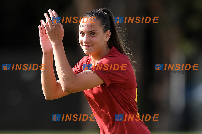 Alice Corelli of AS Roma  <br /> Roma 8/9/2019 Stadio Tre Fontane <br /> Luisa Petrucci Trophy 2019<br /> AS Roma - Paris Saint Germain<br /> Photo Andrea Staccioli / Insidefoto
