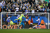 Fulham's Chris Martin misses a good chance in the closing moments     <br /> <br /> <br /> Photographer Craig Mercer/CameraSport<br /> <br /> The EFL Sky Bet Championship Play-Off Semi Final Second Leg - Reading v Fulham - Tuesday May 16th 2017 - Madejski Stadium - Reading <br /> <br /> World Copyright &copy; 2017 CameraSport. All rights reserved. 43 Linden Ave. Countesthorpe. Leicester. England. LE8 5PG - Tel: +44 (0) 116 277 4147 - admin@camerasport.com - www.camerasport.com