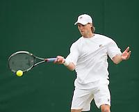 Andreas Seppi<br /> <br /> Tennis - The Championships Wimbledon  - Grand Slam -  All England Lawn Tennis Club  2013 -  Wimbledon - London - United Kingdom - Tuesday 25th June  2013. <br /> &copy; AMN Images, 8 Cedar Court, Somerset Road, London, SW19 5HU<br /> Tel - +44 7843383012<br /> mfrey@advantagemedianet.com<br /> www.amnimages.photoshelter.com<br /> www.advantagemedianet.com<br /> www.tennishead.net