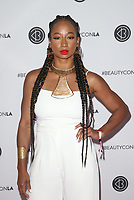 LOS ANGELES, CA - AUGUST 11: Monique Coleman, at Beautycon Festival Los Angeles 2019 - Day 2 at Los Angeles Convention Center in Los Angeles, California on August 11, 2019. <br /> CAP/MPIFS<br /> ©MPIFS/Capital Pictures