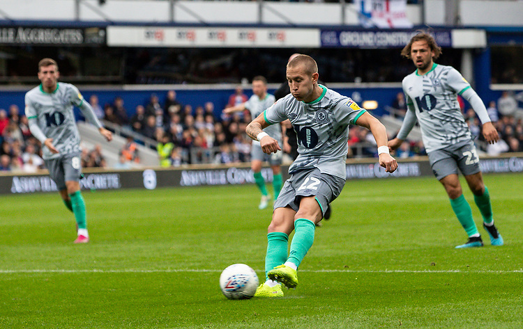Blackburn Rovers' Lewis Holtby shoots at goal<br /> <br /> Photographer Andrew Kearns/CameraSport<br /> <br /> The EFL Sky Bet Championship - Queens Park Rangers v Blackburn Rovers - Saturday 5th October 2019 - Loftus Road - London<br /> <br /> World Copyright © 2019 CameraSport. All rights reserved. 43 Linden Ave. Countesthorpe. Leicester. England. LE8 5PG - Tel: +44 (0) 116 277 4147 - admin@camerasport.com - www.camerasport.com