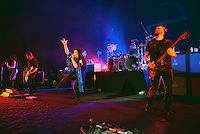 MIAMI BEACH, FL - NOVEMBER 13: Evanescence performs on stage at Fillmore Miami Beach on November 13, 2016 in Miami Beach, Florida. Credit: MPI10 / MediaPunch