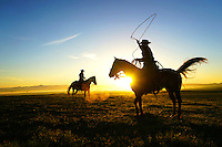 Cowboy Portraits at Sunrise