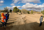 BAJA CALIFORNIA, MEXICO - NOVEMBER 15:  Kurt Casselli of the FMF/Bonanza Plumbing KTM team exits his last pit-stop during the 2013 SCORE Baja 1000 on November 15, 2013 in Baja California, Mexico. (Photo by Donald Miralle for ESPN the Magazine) *** Local Caption ***Ivan Ramirez;Kurt Casselli