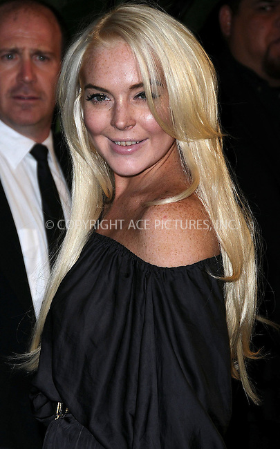 WWW.ACEPIXS.COM . . . . .  ..... . . . . US SALES ONLY . . . . .....October 12 2011, LA....Lindsay Lohan at the 'Saints Row: The Third' video game launch held at the Supper Club on October 12 2011 in Hollywood, Los Angeles ....Please byline: FAMOUS-ACE PICTURES... . . . .  ....Ace Pictures, Inc:  ..Tel: (212) 243-8787..e-mail: info@acepixs.com..web: http://www.acepixs.com