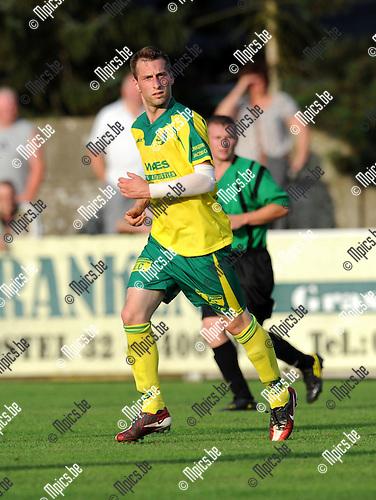 2012-08-14 / Voetbal / seizoen 2012-2013 / Witgoor Dessel / Niels Bijloos..Foto: Mpics.be