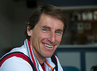 21-01-14,Netherlands, Almere,  Centerpoint, Press-conference Daviscup, ,   Fedcup Captain Paul Haarhuis<br /> Photo: Henk Koster
