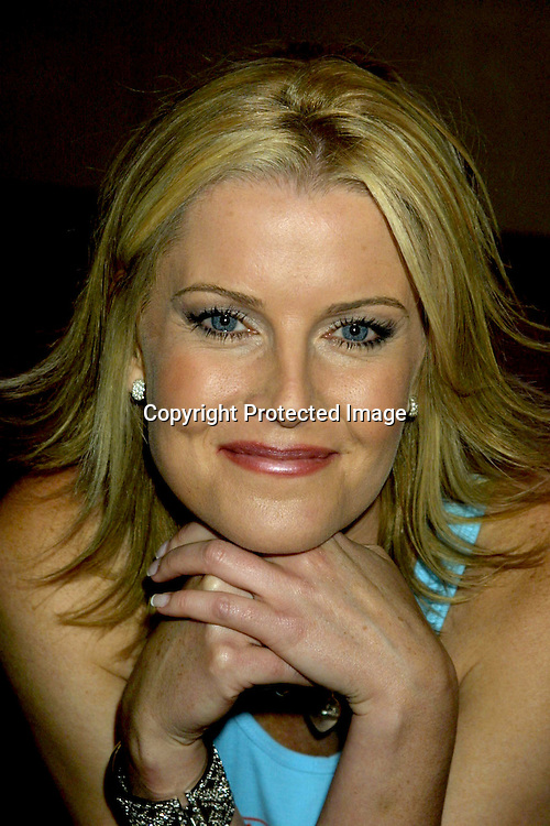 ©2002 KATHY HUTCHINS / HUTCHINS PHOTO.TAPING OF SOAP TALK, A SHOW ON SOAPNET.6/14/02.LOS ANGELES, CA.MAEVE QUINLAN