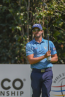 Adam Hadwin (CAN) watches his tee shot on 3 during round 1 of the World Golf Championships, Mexico, Club De Golf Chapultepec, Mexico City, Mexico. 3/1/2018.<br /> Picture: Golffile | Ken Murray<br /> <br /> <br /> All photo usage must carry mandatory copyright credit (&copy; Golffile | Ken Murray)