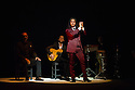 London, UK. 14.03.2014. Farruquito  (Juan Manuel Fernandez Montoya) in IMPROVISAO, at Sadler's Wells, as part of the Flamenco Festival London 2014. Picture shows: Farruquito. Photograph © Jane Hobson.