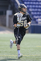 Annapolis, MD - April 15, 2017: Army Black Knights Anthony George (56) in action during game between Army vs Navy at  Navy-Marine Corps Memorial Stadium in Annapolis, MD.   (Photo by Elliott Brown/Media Images International)