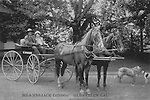 FB-S181  Jack & Charmian London in carriage,  4x6 postcard  3