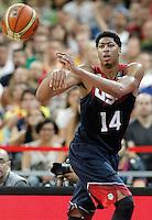USA's Anthony Davis during 2014 FIBA Basketball World Cup Quarter-Finals match.September 9,2014.(ALTERPHOTOS/Acero)
