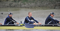 Putney, GREAT BRITAIN,  Oxford University BC. OUBC,. Thursday morning training session, Tideway week. Championship course. Putney/Mortlake, Thursday   05/04/2012 [Mandatory Credit, Peter Spurrier/Intersport-images]..OUBC Crew: left to right. Alex Davidson,5. Karl Hudspith,