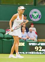 27-06-12, England, London, Tennis , Wimbledon, Caroline Wozniacki