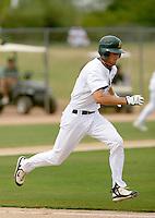 Jason Christian / Oakland Athletics 2008 Instructional League..Photo by:  Bill Mitchell/Four Seam Images
