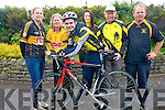 Gearing up for this weekend's cycle are Currow Cycling Club and Currow Ladies GAA club who have teamed up to host a leisure cycle.<br />