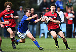 NELSON, NEW ZEALAND - SEPTEMBER 30: Nelson Bays U15 v Canterbury Metro U15 at Jubilee Park on September 30, 2017 in Nelson, New Zealand. (Photo by: Chris Symes/Shuttersport Limited)