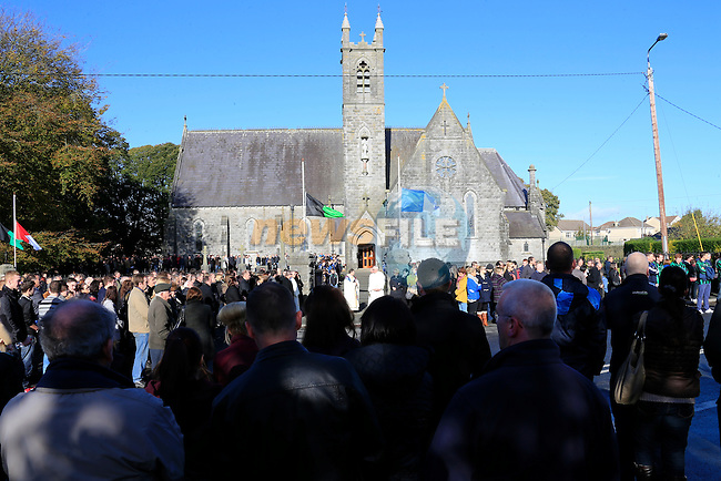 The Funeral of Shane Whelan in Tenure church, Co Louth.<br /> Picture: www.newsfile.ie